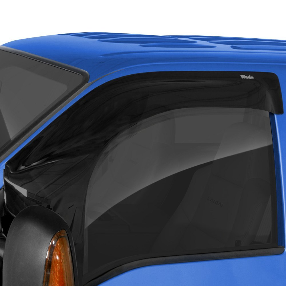 buy best purchase Westin® - Tape-On Wade Extra Wide Smoke Front Wind Guard 2017 for Car & Truck online 2017 for car online