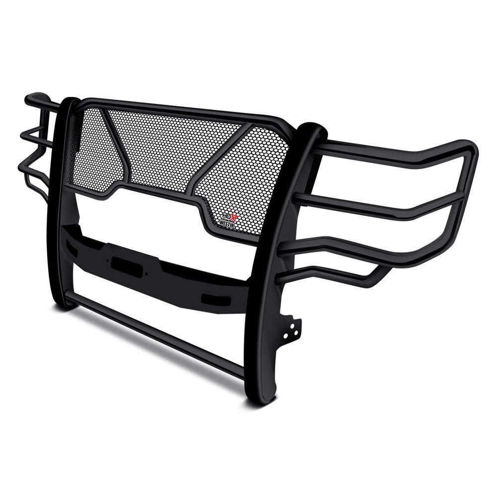 buy best purchase Westin® 57-92505 - HDX Black Winch Mount Grille Guard 2017 for Car & Truck online 2017 for car online