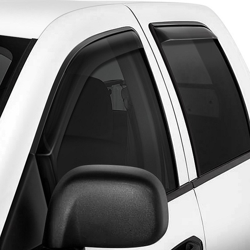 purchase Westin® - In-Channel Wade Smoke Front and Rear Window Deflectors 2017 for Car & Truck online