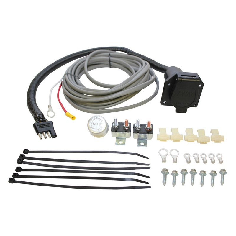 purchase Westin® 65-75607 - Brake Control Wiring Harness Kit with 7-Way Trailer Connector & Attachment Hardware 2017 for Car & Truck online