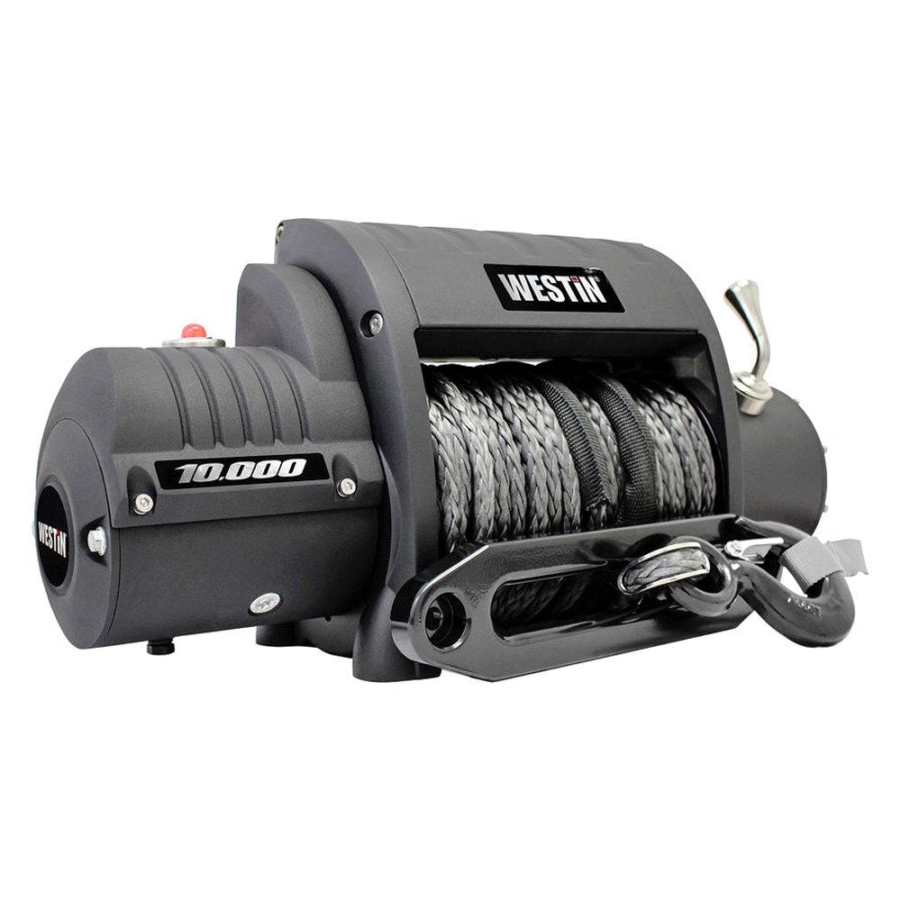 buy best purchase Westin® 47-2200 - Off-Road Integrated Series 10000 lbs Winch with Synthetic Rope 2017 for Car & Truck online 2017 for car online