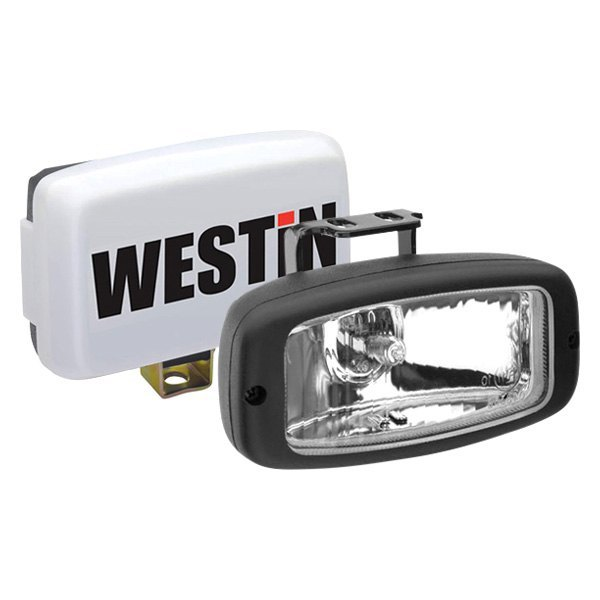 buy best purchase Westin® - Stud Mount 2x55W Rectangular Driving Beam Lights (5.25