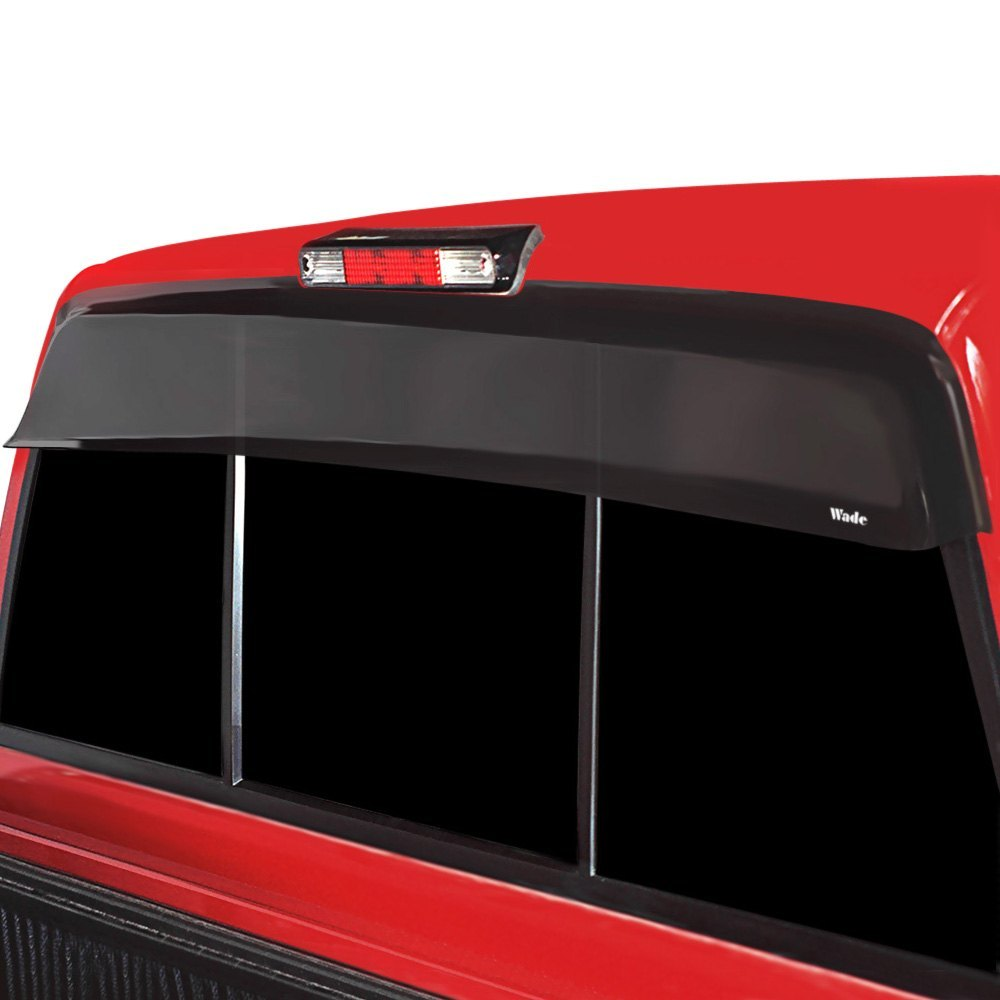 buy best purchase Westin® - Tape-On Wade Smoke Rear Cab Guard Wind Deflector 2017 for Car & Truck online 2017 for car online